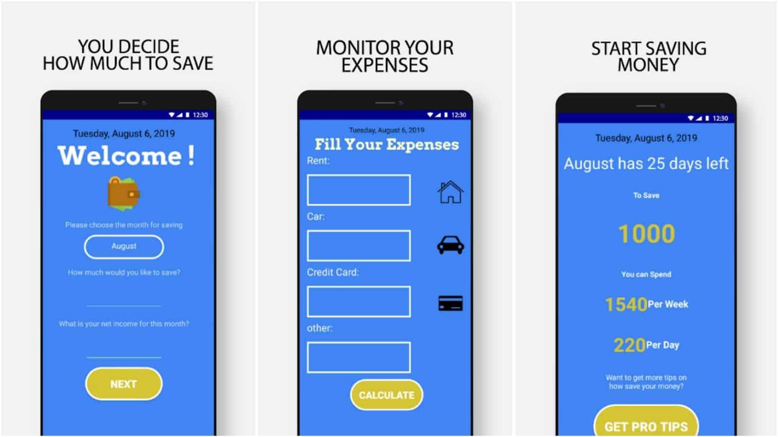 Изображение сетки приложения Как сэкономить деньги