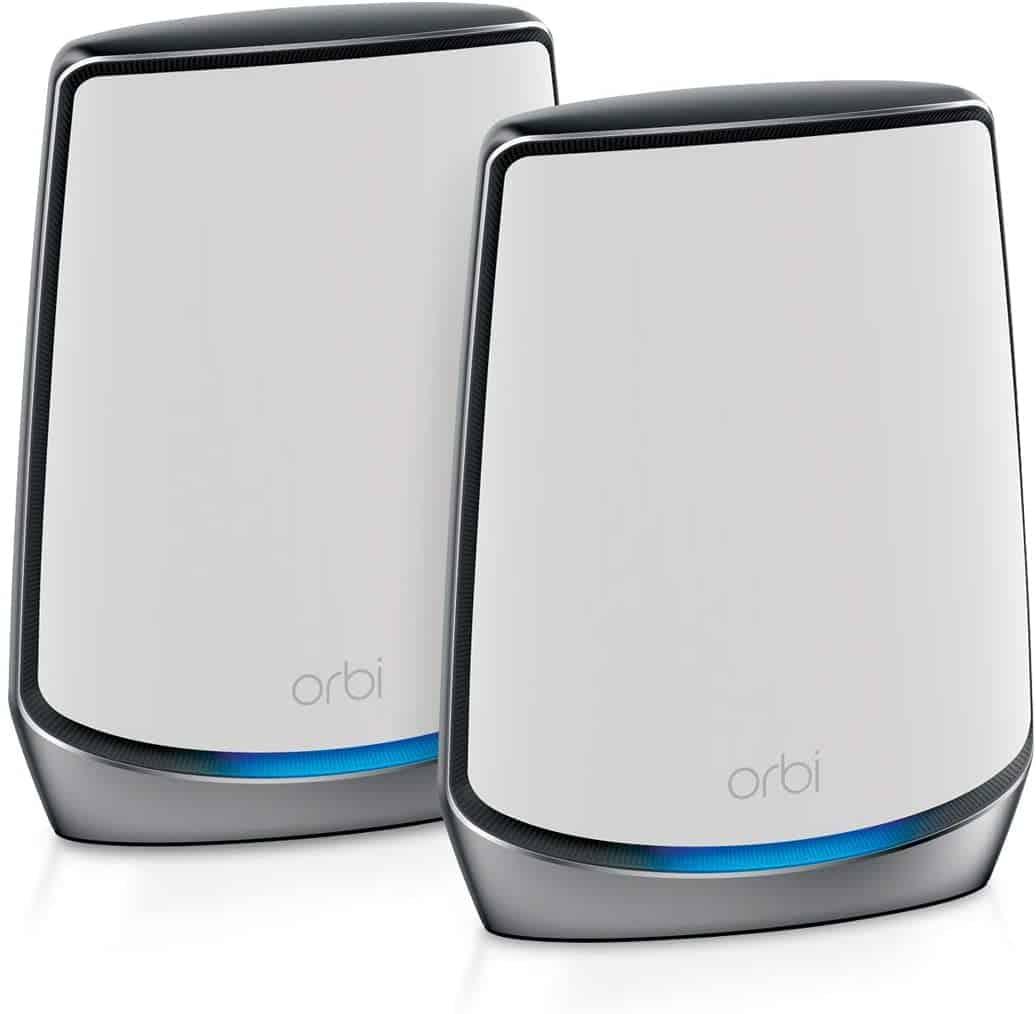 Трехдиапазонная ячеистая система WiFi 6 NETGEAR Orbi для всего дома