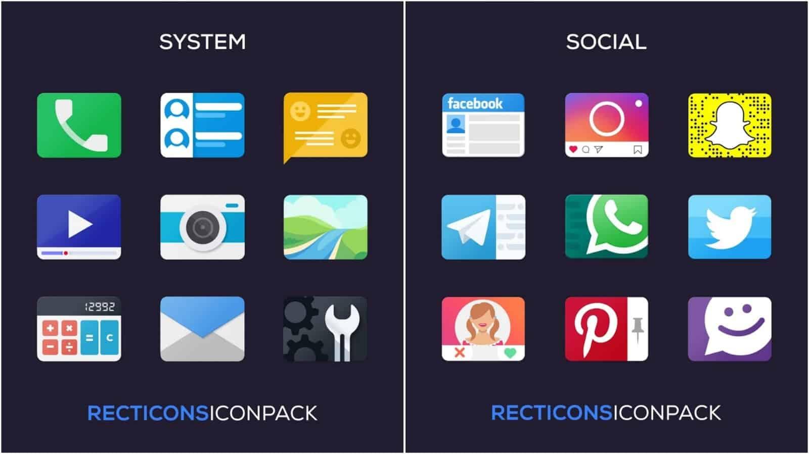 Изображение сетки приложения Reacticons
