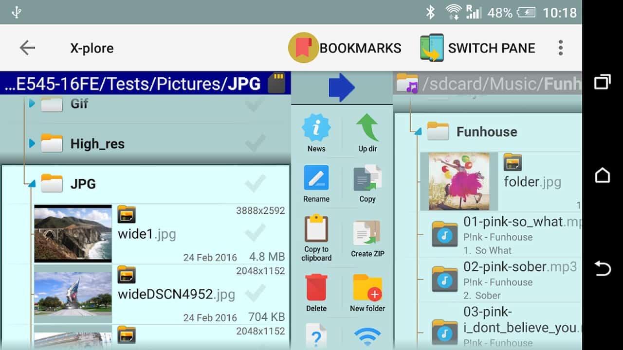 X plore файловый менеджер1